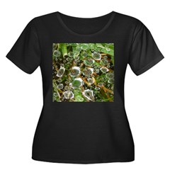 Dew on Grass 1x2 Plus Size T-Shirt