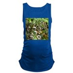 Dew on Grass 1x2 Maternity Tank Top