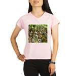 Dew on Grass 1x2 Peformance Dry T-Shirt