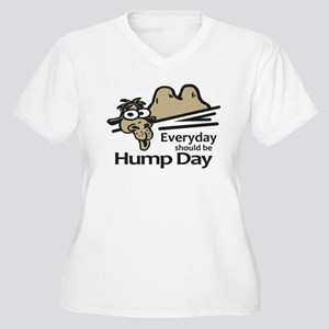 Everyday Should Be Hump Day Women's Plus Size V-Ne