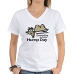 Everyday Should Be Hump Day Women's V-Neck T-Shirt