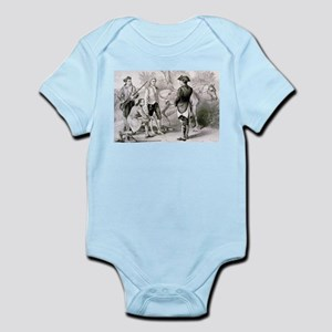 The capture of Andre - 1876 Infant Bodysuit