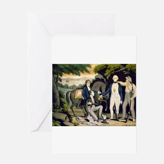 The Capture of Andre 1780 - 1845 Greeting Card