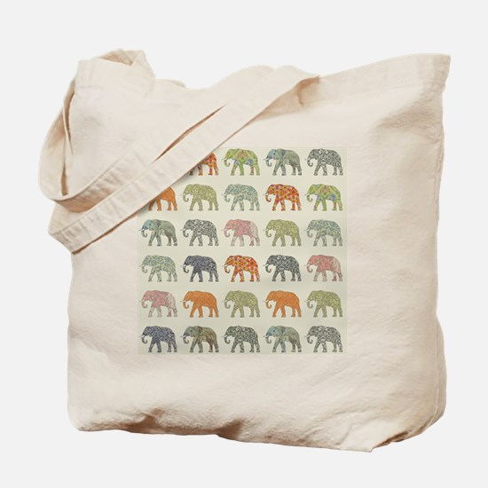 Cute African elephant Tote Bag