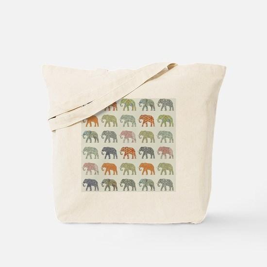 Unique Elephant Tote Bag