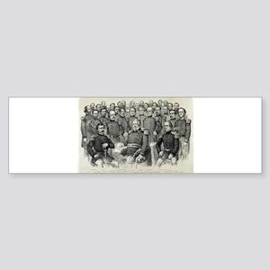 The champions of the Union - 1861 Sticker (Bumper)