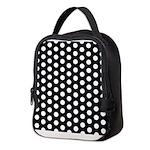 Polka Dots Neoprene Lunch Bag