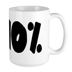 110% light Mug