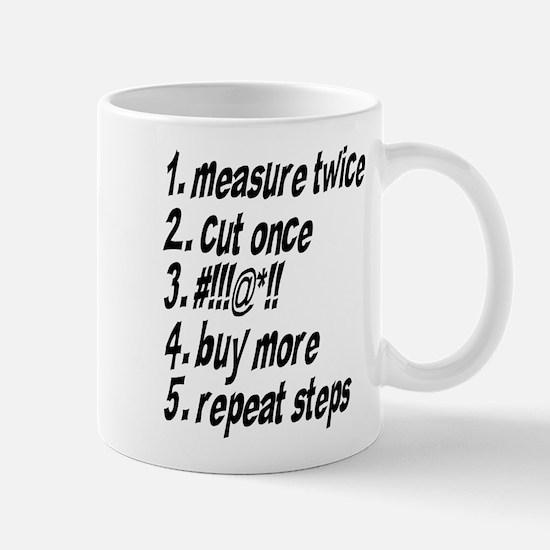 Repeat Steps Mug