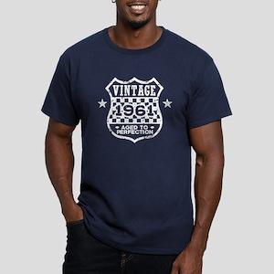 Vintage 1961 Men's Fitted T-Shirt (dark)