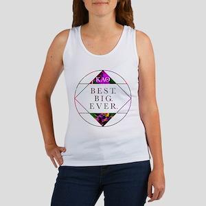 Kappa Alpha Theta Best Big Women's Tank Top