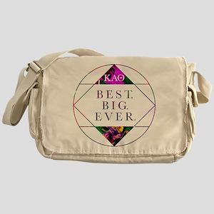 Kappa Alpha Theta Best Big Messenger Bag