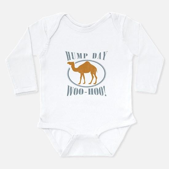 Hump day Long Sleeve Infant Bodysuit