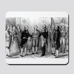 The First meeting of Washington and Lafayette - 18