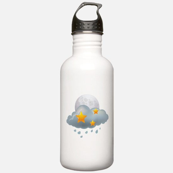 Rain - Weather - Storm Water Bottle