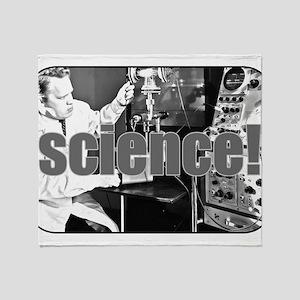Science - Geek - Nerd Throw Blanket