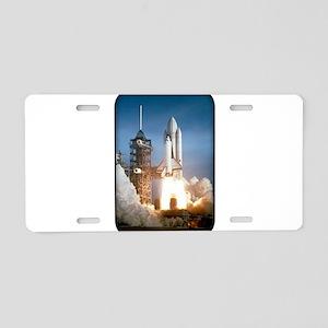 Space - Shuttle - NASA Aluminum License Plate