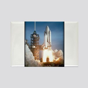 Space - Shuttle - NASA Rectangle Magnet