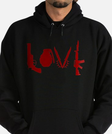 Weapon Love Hoodie (dark)