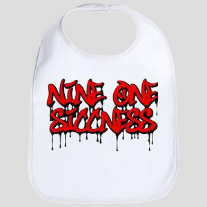 Nine One Siccness Bib