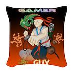 GamerGuy Woven Throw Pillow