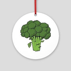 broccoli  Round Ornament