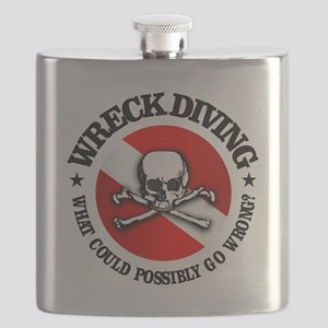 Wreck Diving (Skull) Flask