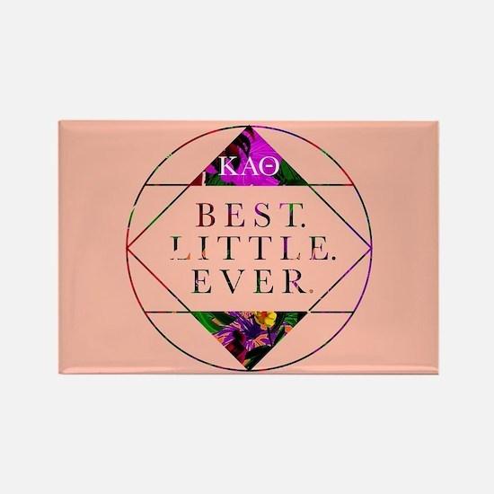 Kappa Alpha Theta Best Little Rectangle Magnet