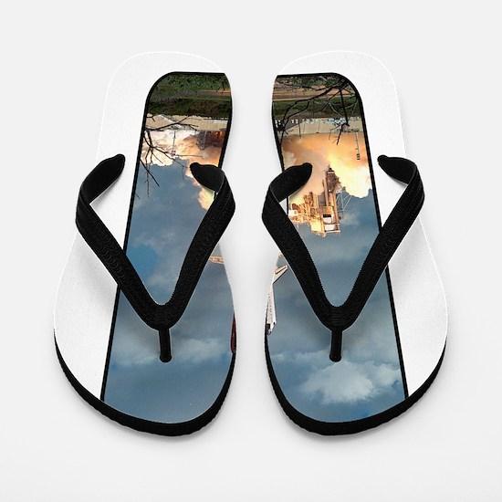 Space - Shuttle - NASA Flip Flops