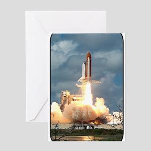 Space - Shuttle - NASA Greeting Card