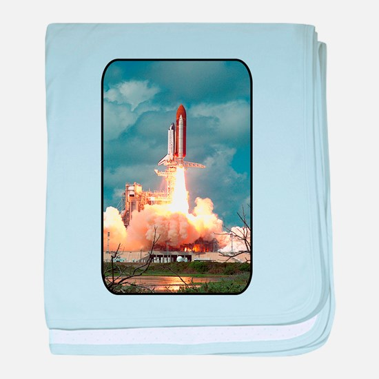 Space - Shuttle - NASA baby blanket