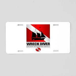 Wreck Diver (Ship) 2 Aluminum License Plate
