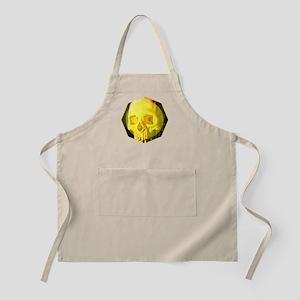 Skull - Death - Skeleton - Yellow Apron