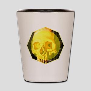 Skull - Death - Skeleton - Yellow Shot Glass