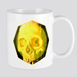 Skull - Death - Skeleton - Yellow Mug