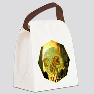 Skull - Death - Skeleton - Tech Canvas Lunch Bag