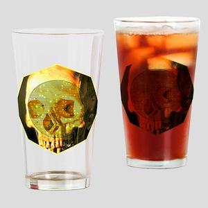 Skull - Death - Skeleton - Tech Drinking Glass