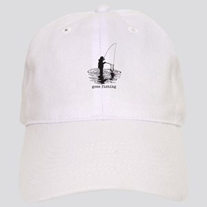 Personalized Gone Fishing Cap