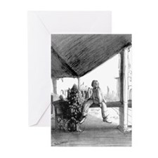 The Train Station - Greeting Cards (Pk of 10)