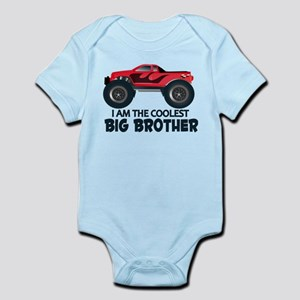 Coolest Big Brother - Truck Infant Bodysuit