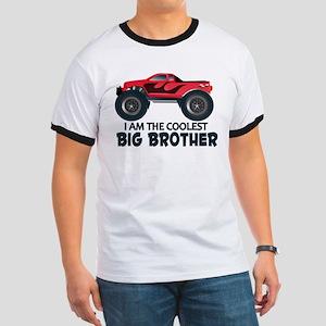 Coolest Big Brother - Truck Ringer T