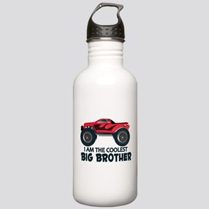 Coolest Big Brother - Truck Stainless Water Bottle