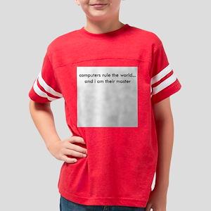 rule_the_world_10x10_high Youth Football Shirt