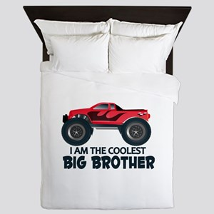 Coolest Big Brother - Truck Queen Duvet