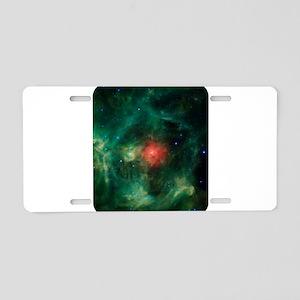 Space - Galaxy - Stars Aluminum License Plate