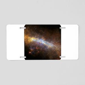 Space - Universe - Stars Aluminum License Plate