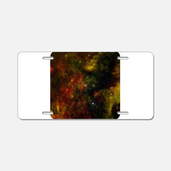Space - Universe - Stars Aluminum License Plate