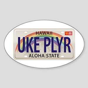 US Uke License Plate Sticker