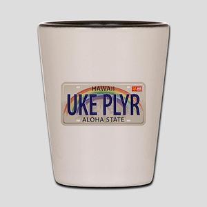 US Uke License Plate Shot Glass