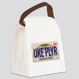 US Uke License Plate Canvas Lunch Bag